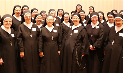 STANDING TOGETHER TO BUILD THE FUTURE - Sisters of Charity of Our Lady, Mother of the Church